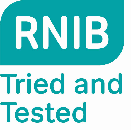 RNIB Tried and Tested Accreditaiton awarded to Storm