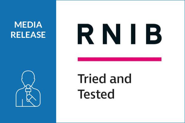 Storm's new products receive RNIB accreditation.